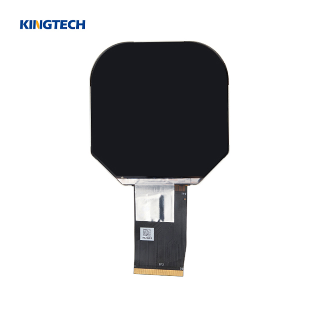 All viewing angle tft 2.5 inch ips lcd round display