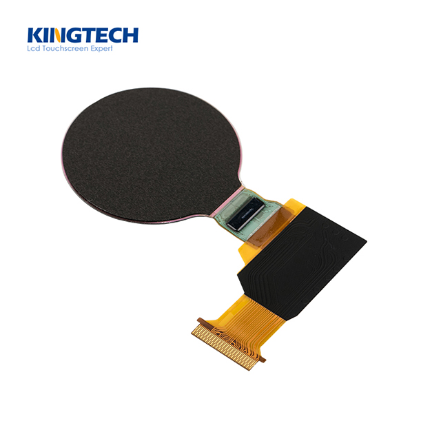 1.3 inch super thin round tft lcd display panel 360x360
